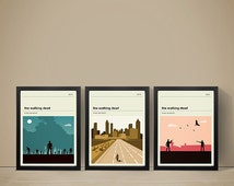 The Walking Dead Posters, Set of Posters, TV Print, Walking Dead Poster, Television, Poster, Print