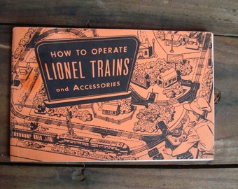 Lionel Trains and Accessories Operating Handbook