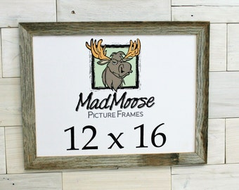 "12x16 BarnWood [Thin x 1.25""] Picture Frame"