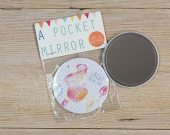 Great Hair Day Pocket Mirror
