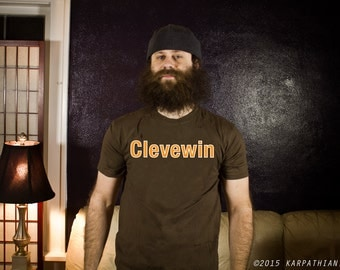Clevewin Cleveland football tee
