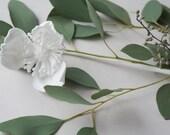 3D Printed Icelandic Poppy No. 2 - Nylon Flower in White or Black