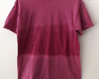 Tie Dye Tee Shirt , Purple Acid Wash tee Shirt, Grunge t-shirt, Pink, graphic, retro, hipster, rocker shirt, ombre, Boho, urban, dip dye