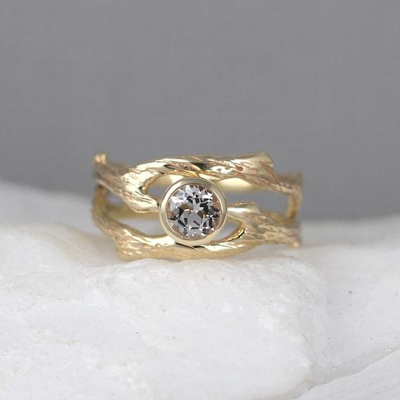 branch wedding rings - photo #15