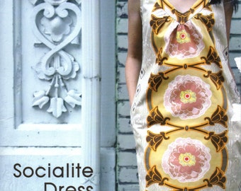 "Anna Maria Sewing Pattern ""Socialite Dress"" Sizes XS-XL"
