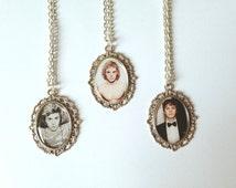 Evan Peters Cameo Necklaces