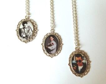 Johnny Depp Cameo Necklaces