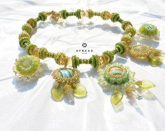 Summer Fresh - one-of-a-kind necklace
