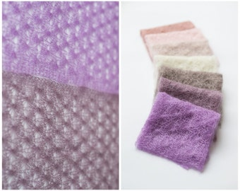 Newborn mohair wrap 31 color / lace mohair wrap / silk mohair wrap / photography props newborns baby / baby cocoon / lace heritage wrap