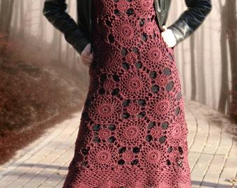 "Crochet Dress ""Dreams come true"""