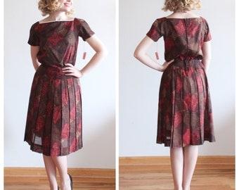 Sugar Maple Dress * 1960s NOS vintage dress * Size 2
