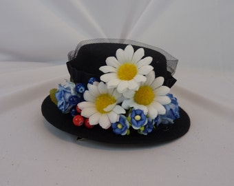 Missy - Doctor Who -  Mini Fascinator Hat