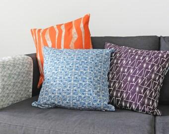 Azulejo Geometric Cushion Cover