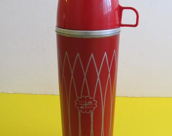 Icy Hot Thermos, Thermos, Camping, RV, Cabin Decor, Icy Hot, Vintage RVs, Glamping, Travel Trailers, Vintage RVs, Icy Hot, Vintage Thermos