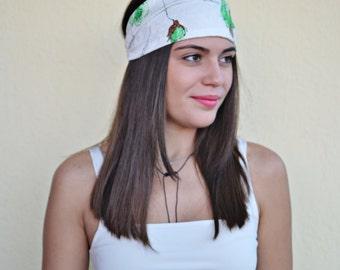 Cotton Headband, Floral Headband, Running Headband, Yoga Headband, Boho Headband, Workout Headband, Womens Turban, Womens Headband, Turban