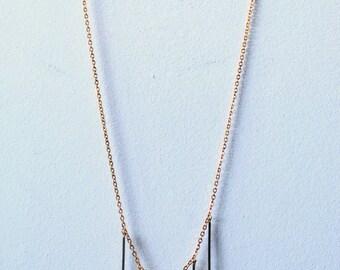 """GEOMETRIC SKULLS"" necklace"