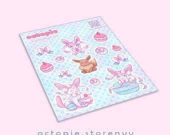 Sylveon Sticker Sheet