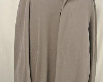 Roger Kent Kentingham Brown Overcoat Men's Size: 42