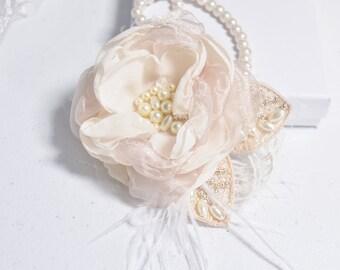 Bridal Hair Flower - Wedding Hair Clip - Wedding Hair Flower - Wedding Hair Piece - Wedding Hair Accessory - Flower Clip - Hair Floral Clip