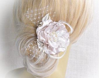Wedding Hair Piece - Wedding Hair Clip - Bridal Hair Flower - Hair Clip - Wedding Hair Pieces