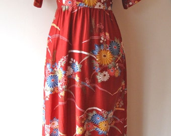 1960s-70s Hawaiian Dress
