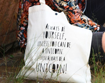 "Tote bag ""unicorn"""