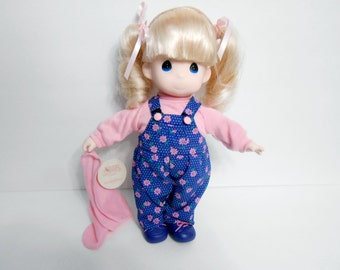 Precious Moments doll 1141 Cindy Publishers clearing house Exclusive 1996. 12 inch tall