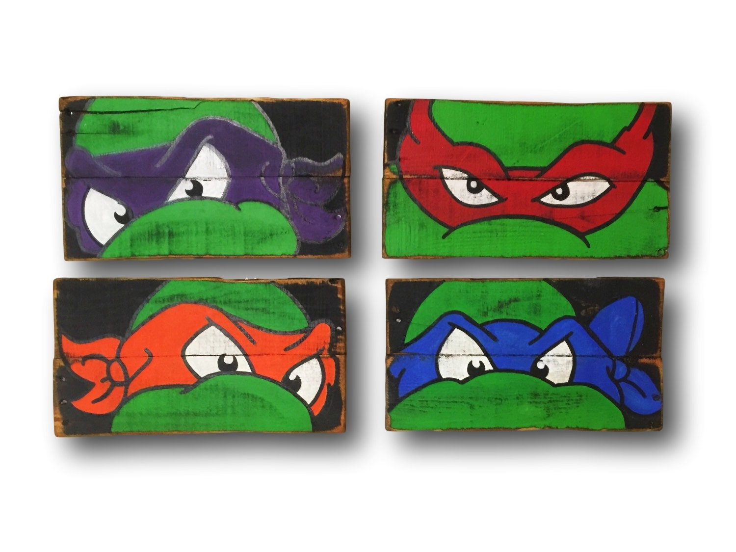 Teenage mutant ninja turtles wall art turtle room decor for Tmnt decorations