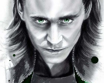 Loki - Canvas Wall Art