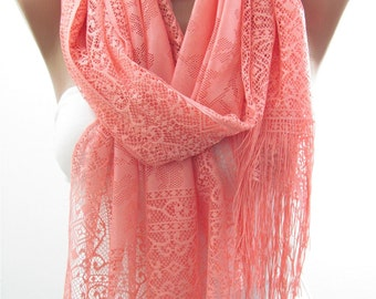 Tulle Scarf Pink Wedding Scarf Shawl Wrap Bridesmaids Gifts Shawl Scarf Bridal Accessories Christmas Gifts For Her Women Fashion Accessories