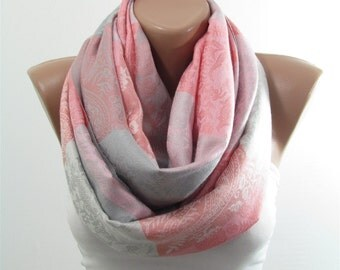 Pashmina Scarf Shawl Wedding Shawl Scarf Wrap Fall Winter Fashion Scarf Loop Infinity Scarf Women Fashion Accessories Christmas Gift For Her