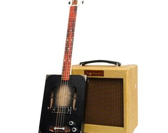 Drummond & Hammett 'Black Jack' Cigar Box Guitar