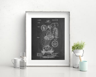 Racing Bicycle Poster, Cycling Art, Bicycle Print, Bicycle Art,PP0025 Z1016