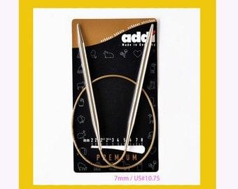 """60cm / 24"""" Addi Premium Circular Knitting Needles"""
