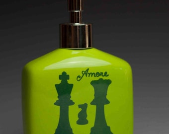 Limited Edition Chess Soap/Lotion Dispenser