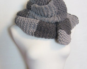 Shades of Grey Scarf. Striped Gray Scarf. Ships Free in the USA