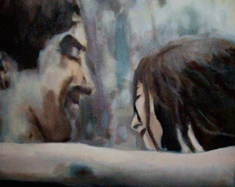 Oil paintings