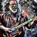 Jerry Garcia Art, Grateful Dead Original Painting Art Print