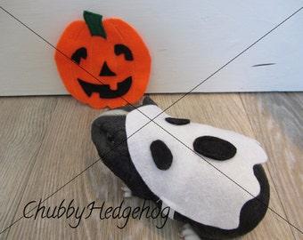 GHOST Halloween costume Hedgehog/Guinea pig