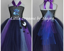 Princess Luna inspired tutu dress - My Little Pony inspired costume size nb to 12years