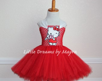 Hello kitty tutu - Etsy