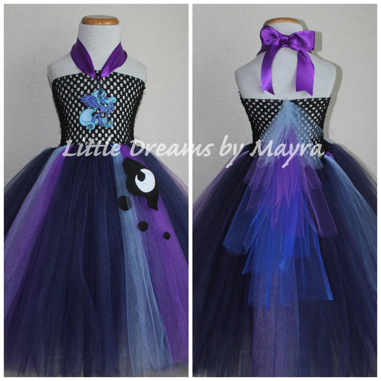Princess Luna Inspired Tutu Dress My Little Pony Inspired