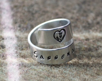 Sassenach Wrap Ring - Celtic Jewelry
