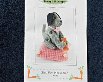 Bitty Dog Pincushion Pattern and Instructions