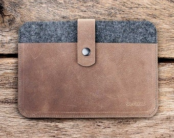 Fachwerk for iPad Air 2, case leather - felt, WT1114