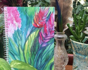 Bohemian Journal | Colorful, Hand Painted, Blank Notebook