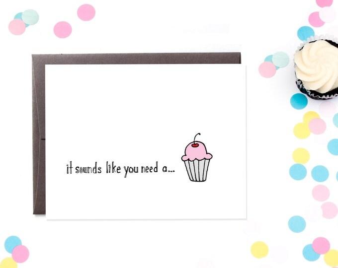 Sympathy Cupcake