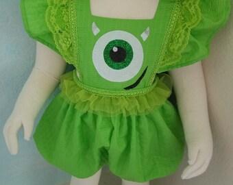 Green Monster Romper