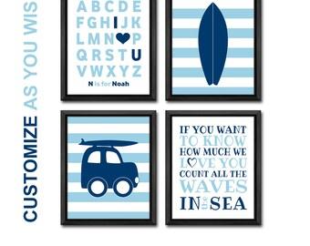 surf nursery, surf baby decor, beach nursery art, beach baby room decor, surf playroom art, beach kids decor, if you want to know nursery