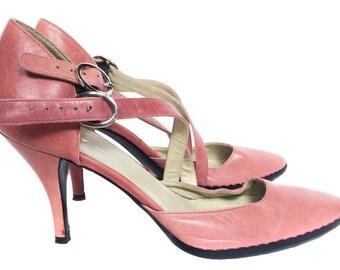Vintage DKNY Pink Shoes